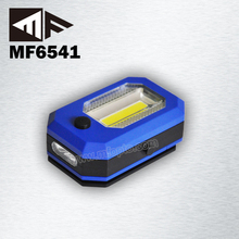 New Invention Magnetic 0.5W LED+3W COB LED Inspection Worklight Lamp
