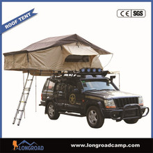 Air conditioner camping easy open factory beach roof tent