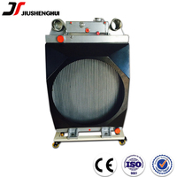 Cooling system industrial transmission excavator hydraulic oil cooler