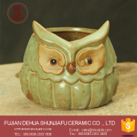 Terracotta Owl Flower Pots Wholesale