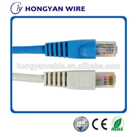 24awg twisted pair UTP/FTP/SFTP patch cord cat6 multi core network cable lan cable made in china