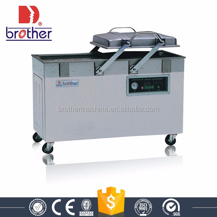 DZ(Q)400-2SB Double chamber semi-automatic commercial chamber vacuum sealer