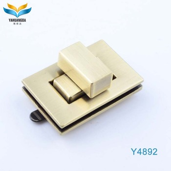 hot selling decorative locks purse hardware latch lock for bags