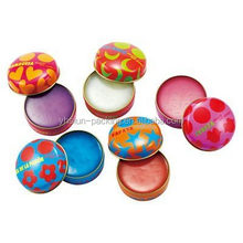 Mini Round Tin Can for lip balm tin box