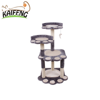 Pet Wholesale Toy from China Handmade Climbing Deluxe Cat Tree