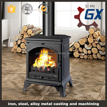free standing wood burning fireplace cast iron prices