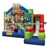 2016 New inflatable Toy Story Combo Bouncer Slide
