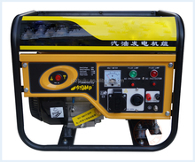 Super quality assured!!! 1300W Manual start portable gas generator for home use HJ-G1300