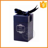 Customized wholesale recycled materials perfume gift packing box for sale