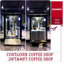 container mobile restaurant for sale/prefab modify shipping container bar/ cheap used office container
