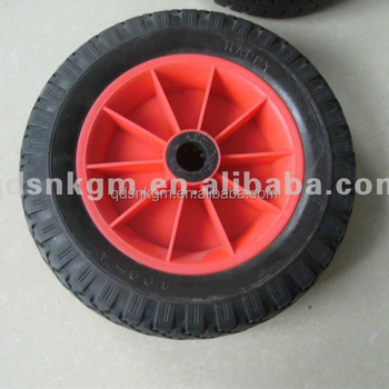 "Polyurethane Tire 10x3.00-4"" For Handtruck"