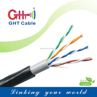 High speed utp cat5e cable cat5 network 24AWG 99.99%copper conductor with certifications