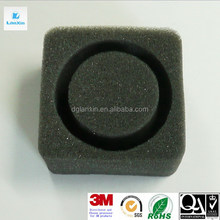 Top quality branded water cut black packing foam