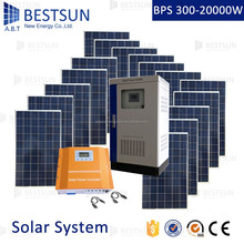 BESTSUN 20000W stock price A grade solar panel manufacturers 20kw solar panel cheap solar panels system china