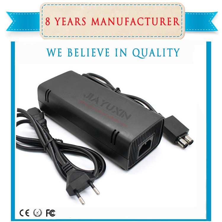 AC DC Adapter With USB Charge Cable For Xbox360 Slim (US)