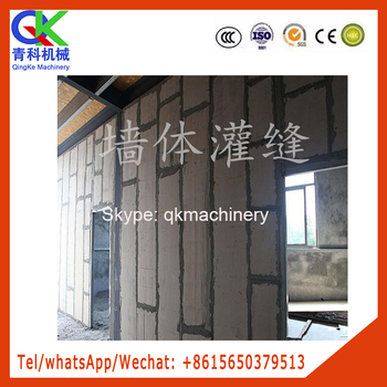 construction joint grouter thermal insulation sealing machine
