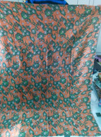 Buy Unique Sari made Reversible Cotton Vintage Bedspread Blanket