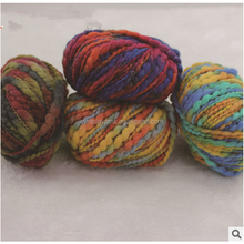 fancy big belly yarn for scarf knitting and hand knitting textile buying colorful yarn sales