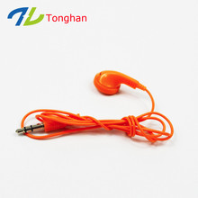 Cheapest mono earphone custom ear phone disposable earphones for promotion