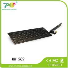 Innovative corporate gift wireless keyboard and mouse 2.4ghz remote for TV, PC and computer