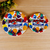 Colorful Party Wedding Round Disposable Paper Plates