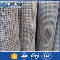 High quality welded wire mesh sizes 1inch galvanized welded wire mesh