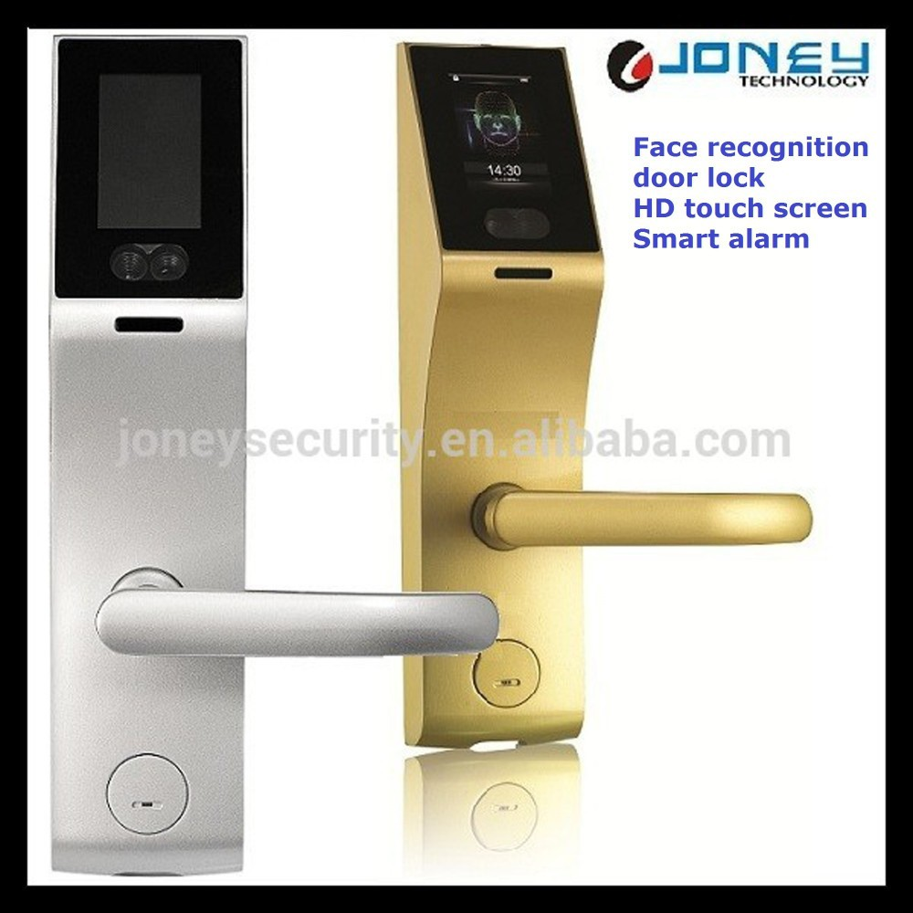 3 inch Capacitive Touch Screen biometric Face Recognition Door Lock