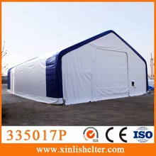 335017P Large snow loading outdoor garages sun shelter military winter tent