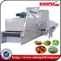 Large Output Hot Air Conveyor Stevia Leaves Dehydrator Equipment