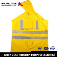 High Visibility Safety Factory Price Rain Coat, Wholesale Cheap PVC Raincoat, Custom Waterproof Raincoat