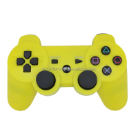 yellow of the wireless game handle For Sony PlayStation 4 PS4 Launch Edition 500 GB Console