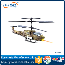 3.5CH Remote Control Fighting Helicopter With Gyro and LED Light RC Warcraft