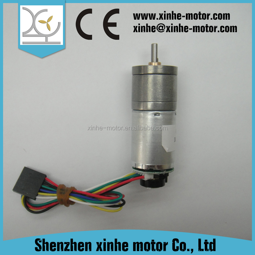 6 volt small electric geared motor with gear box