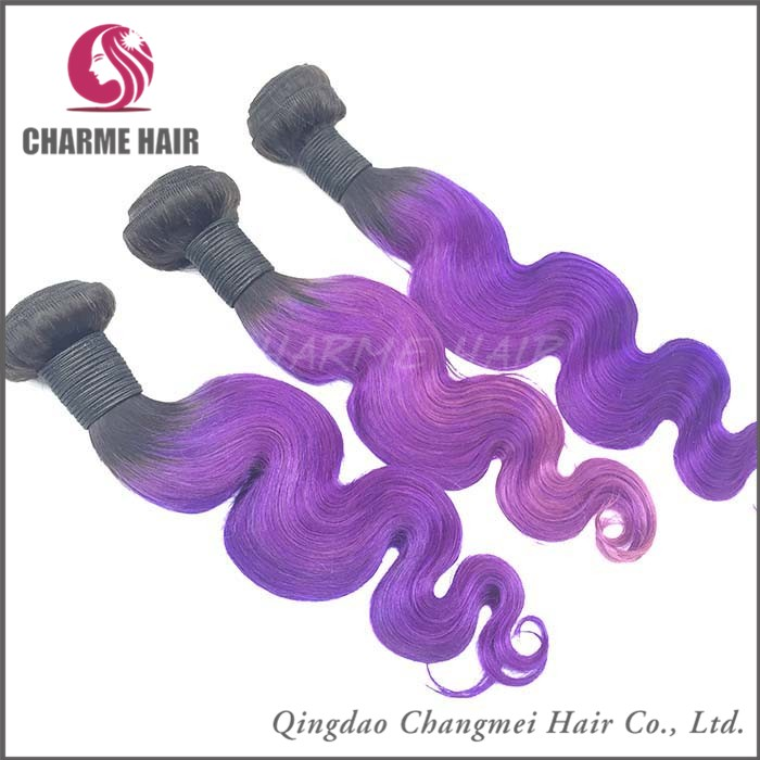 Full Cuticle 8a Grade Wholesale Purple Body Wave Remy Hair Weave