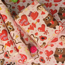 types of gift wrapping paper size cheap
