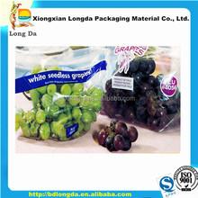 plastic food grade grape protection pouch bag with holes