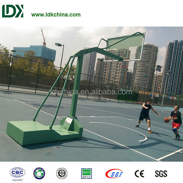 Professional outdoor basketball stand hydraulic basketball stand