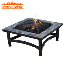 High Quality Outdoor Garden Ceramic Fire Pit Table Stand For Outdoor Heating