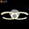 Cross Ceiling Chandelier Acrylic Chandelier Modern Decoration Light OM9052