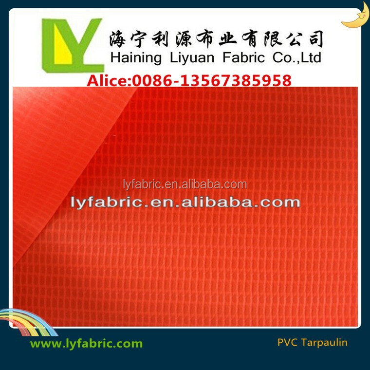 Eco-friendly pvc vinyl tarpaulin for tent/awning/bags/covering
