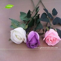 GNW FLS11 Cheap Wholesale Artificial Flowers Buy from Alibaba Fabric Indian Rose Flower