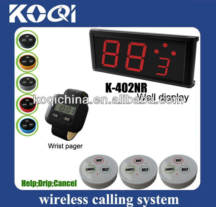 hospital call system 402NR-300-D3 HELP;DRIP;CANCEL nurse call button