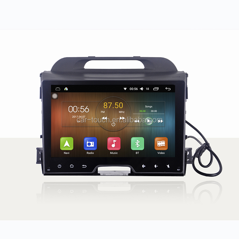 "10.1"" Cartouch car gps navigation in dash android dvd for KIA SPORTAGE 2010- 2013"