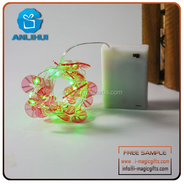 Twinkling Timer battery pack offered Micro LED string light for Doorplate decoration