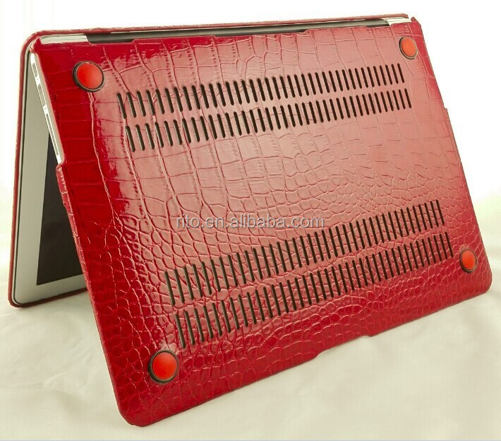 New Alligator PU Leather Case Cover for Macbook Air 13""