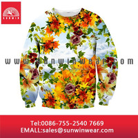 Dye Sublimation Printed Hoodies/ High Quality Dye Sublimation Printing/ Dye Sublimation Hooded Sweatshirts