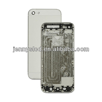 Original mobile phone back cover for iphone 5 white