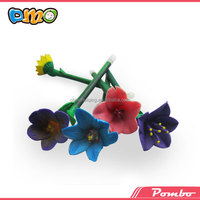 Factory directly!!! Polymer clay top flower pen