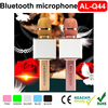 wireless Bluetooth microphone,universal phone KTV microphone, Bluetooth stereo karaoke microphone