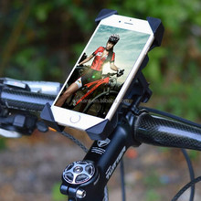 phone accessories universal sponge road/mountain bike bicycle phone mount holder with lock